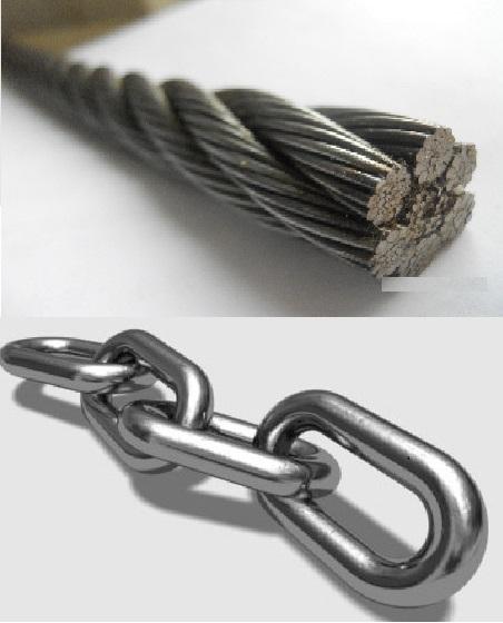 زنجیر و سیم بکسل